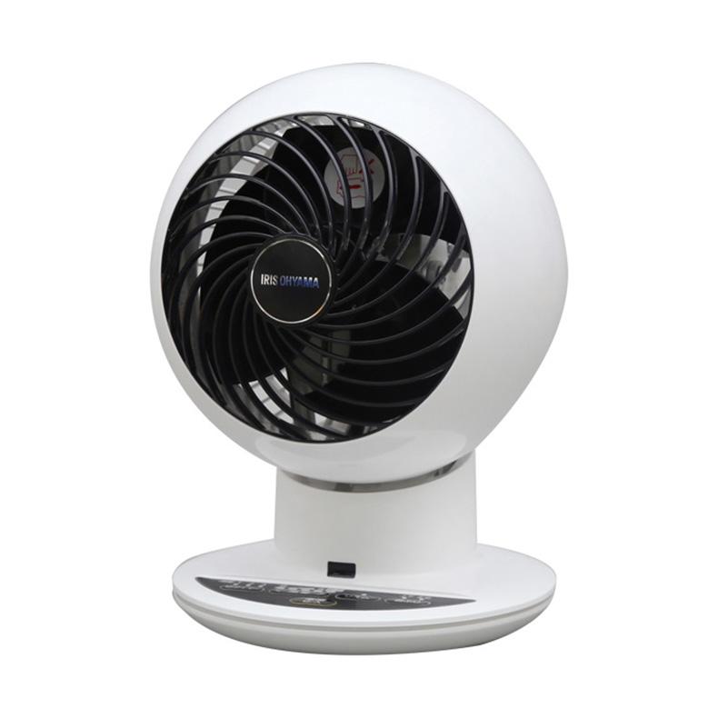 強力コンパクト サーキュレーター アイリスオーヤマ IRIS OHYAMA KCF-KSC152T-WP kcf-ksc152t-wp ホワイト 18畳 5段階 風量調節 首振り 新品 送料無料