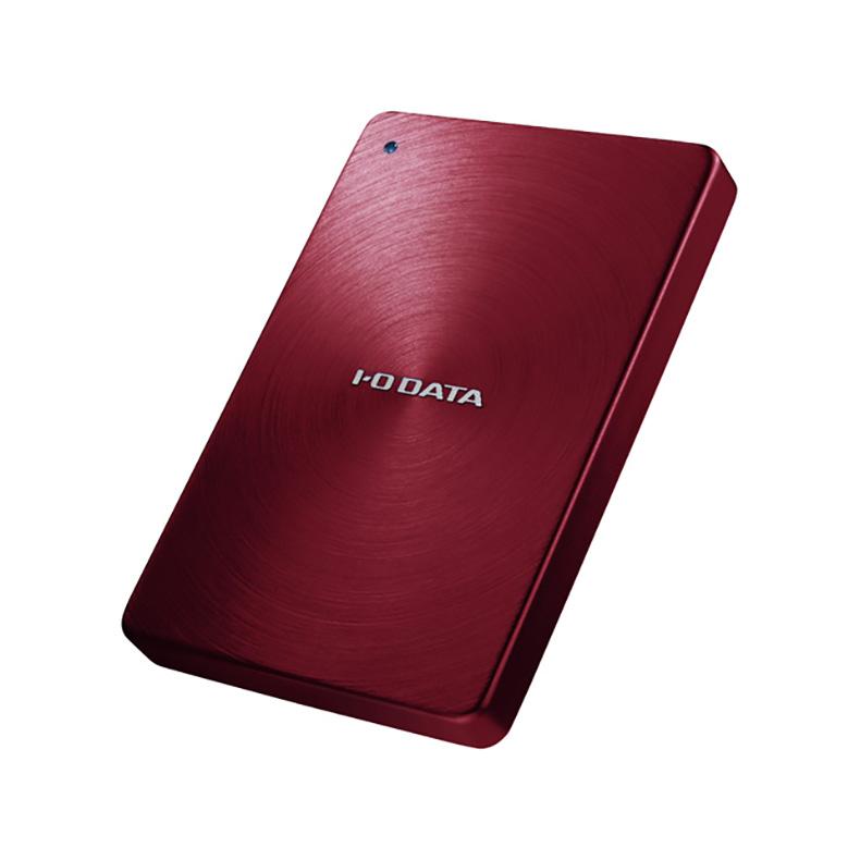 外付けHDD ポータブルハードディスク IOデータ IODATA HDPX-UTA1.0R hdpx-uta1.0r レッド 1TB カクうす USB3.0 2.0 HDPX-UTAシリーズ 新品 送料無料