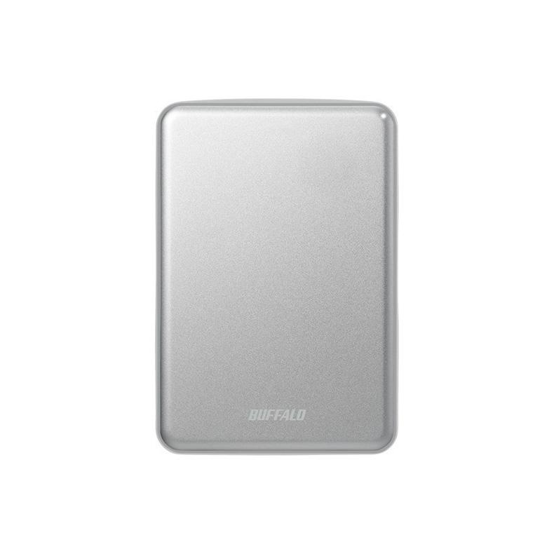 外付けHDDHDD バッファロー BUFFALO HD-PUS2.0U3-SVD hd-pus2.0u3-svd シルバー 2TB Mac Windows FAT形式 フォーマット アルマイト加工 動画 新品 送料無料