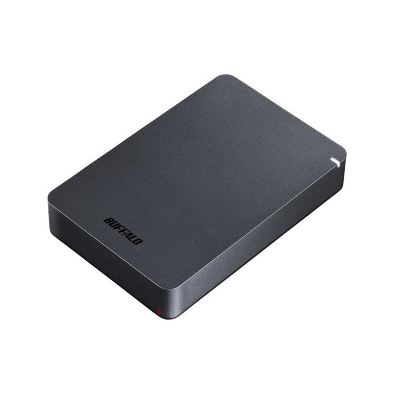 外付けHDDHDD バッファロー BUFFALO HD-PGF4.0U3-GBKA hd-pgf4.0u3-gbka ブラック 4TB 耐衝撃 ボディー 衝撃吸収フレーム バックアップ 新品 送料無料