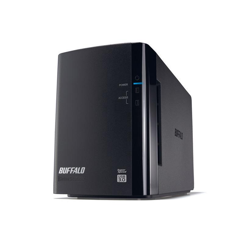 外付けHDD バッファロー BUFFALO HD-WL6TU3/R1J hd-wl6tu3/r1j 6TB USB3.0 外付けハードディスク 2ドライブ 大容量 データ 高速 転送 データ保護 新品 送料無料