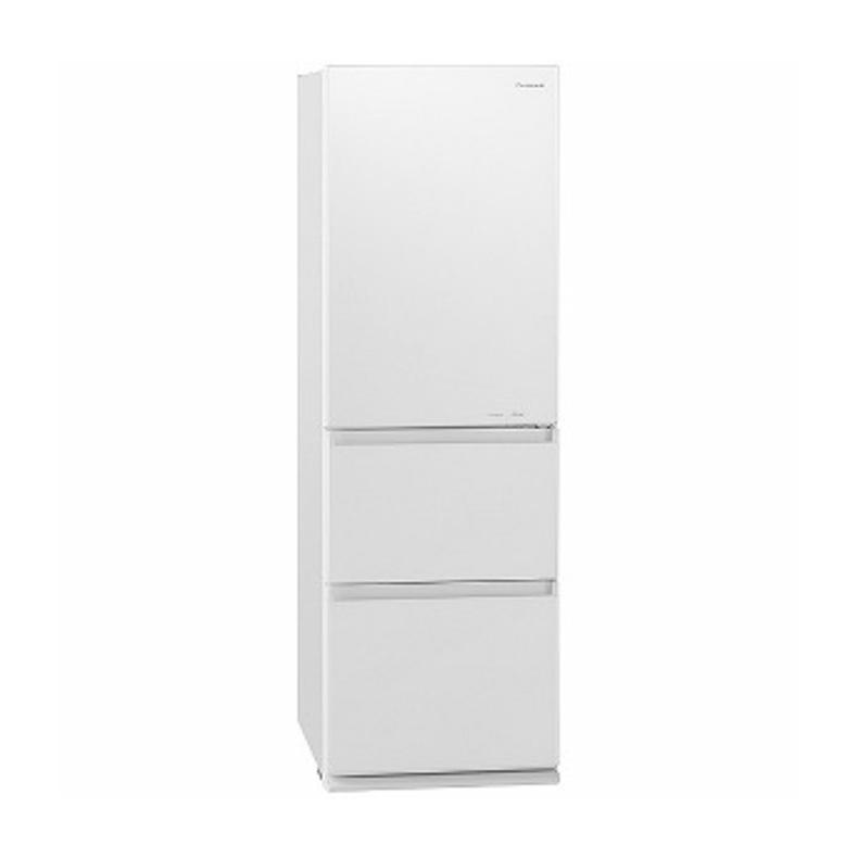 【送料無料・標準設置込】 ノンフロン冷凍冷蔵庫 冷蔵庫 パナソニック Panasonic NR-C371GNL nr-c371gnl スノーホワイト 3ドア 365L 左開き 新品 送料無料