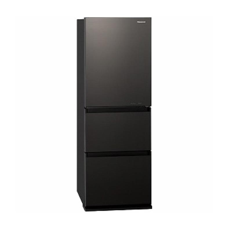 【送料無料・標準設置込】 ノンフロン冷凍冷蔵庫 冷蔵庫 パナソニック Panasonic NR-C341GCL nr-c341gcl ダークブラウン 3ドア 335L 左開き 新品 送料無料