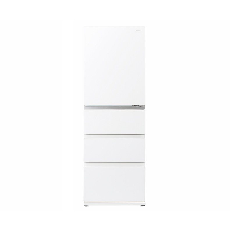 【送料無料・標準設置込】 冷蔵庫 アクア AQUA AQR-VZ43JL aqr-vz43jl クリアウォームホワイト 4ドア 430L 左開き おいシールド冷凍 新品 送料無料