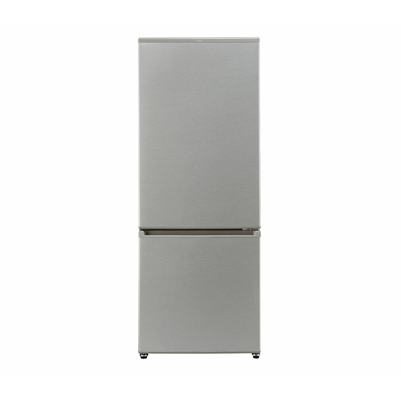 【送料無料・標準設置込】 冷蔵庫 アクア AQUA AQR-20J aqr-20j ブラッシュシルバー 冷蔵庫 2ドア 201L 右開き 大容量冷凍室 耐熱100℃ テーブル 新品 送料無料