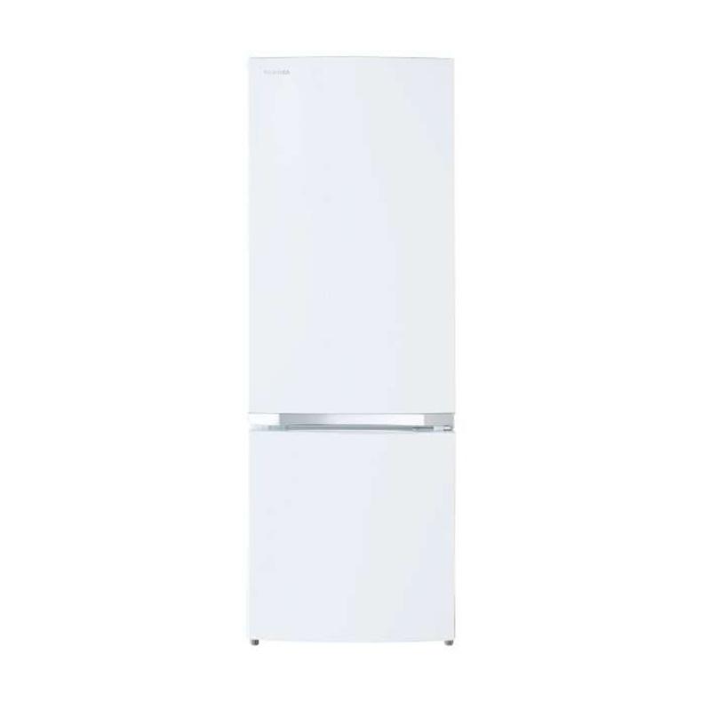 【送料無料・標準設置込】 冷蔵庫 東芝 TOSHIBA GR-R17BS gr-r17bs セミマットホワイト 2ドア 170L 右開き 静音 省エネ 耐熱温度100℃ 新品 送料無料