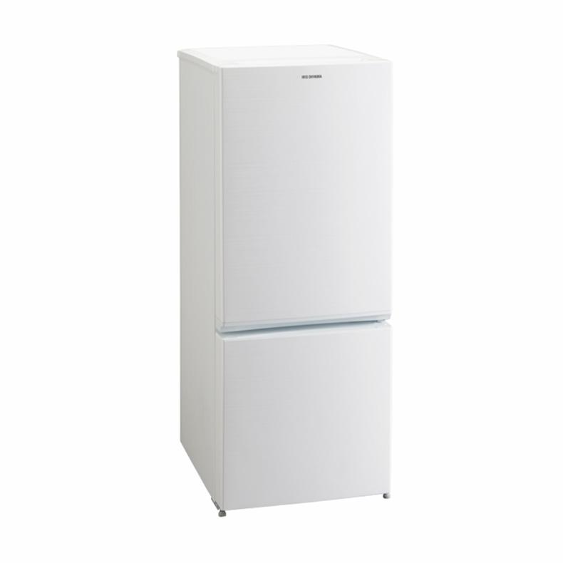 【送料無料・標準設置込】 ノンフロン 冷凍 冷蔵庫 アイリスオーヤマ IRIS OHYAMA AF156Z-WE af156z-we ホワイト 2ドア 156L 右開き LED 庫内灯 新品 送料無料
