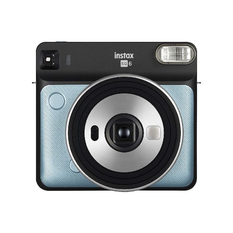 インスタントカメラ チェキ 富士フイルム FUJIFILM instax SQUARE SQ6 アクアブルー オートモード 自動露光調整機能 セルフィーモード 新品 送料無料