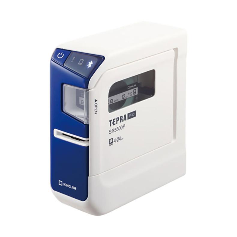 テプラ PRO ラベルライター キングジム KING JIM SR5500P sr5500p ブルー PC接続専用機 USB Bluetooth コードレス iOS Android Windows 新品 送料無料