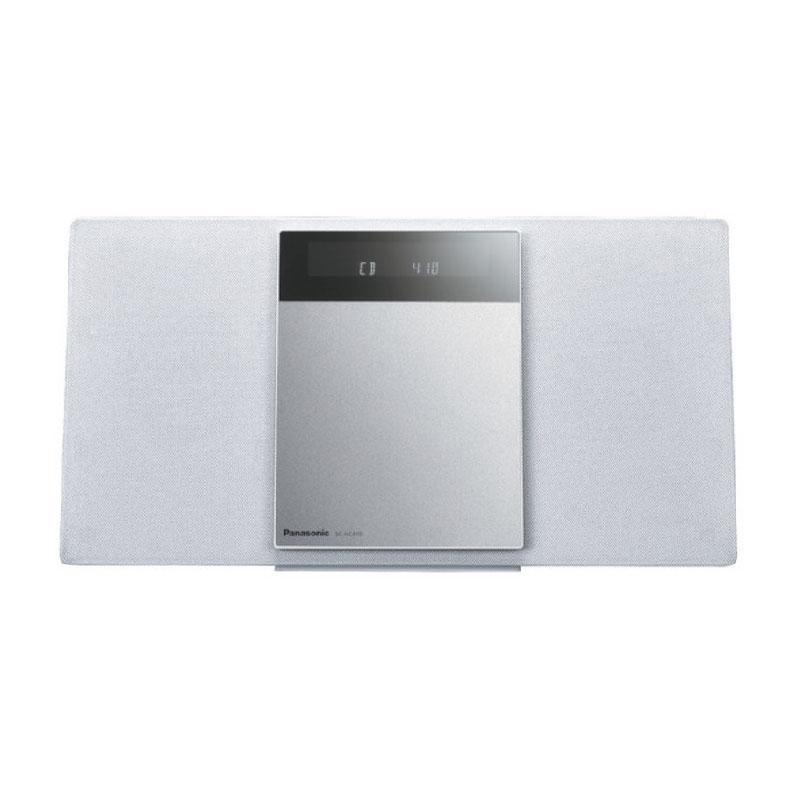 コンパクト ステレオシステム ミニコンポ オーディオ機器 パナソニック SC-HC410-W sc-hc410-w ホワイト デジタル5チェンジャー 新品 送料無料