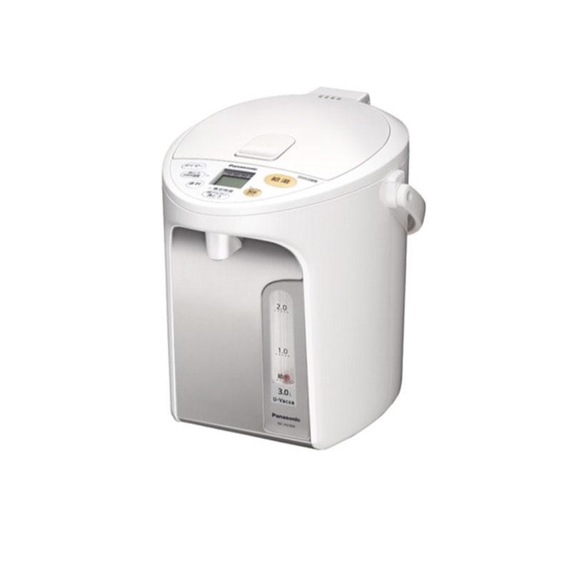 マイコン沸騰ジャーポット 電気ポット パナソニック Panasonic NC-HU304 ホワイト 3.0L U-Vacua ユーバキュア お好み温調 2段階給湯 コードレス電動給湯
