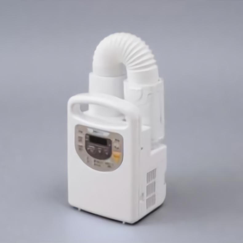 ふとん乾燥機 アイリスオーヤマ IRIS OHYAMA KFK-C3-WP kfk-c3-wp ホワイト カラリエ タイマー付き 立体ノズル くつ乾燥 アロマケース ダニ対策 新品 送料無料