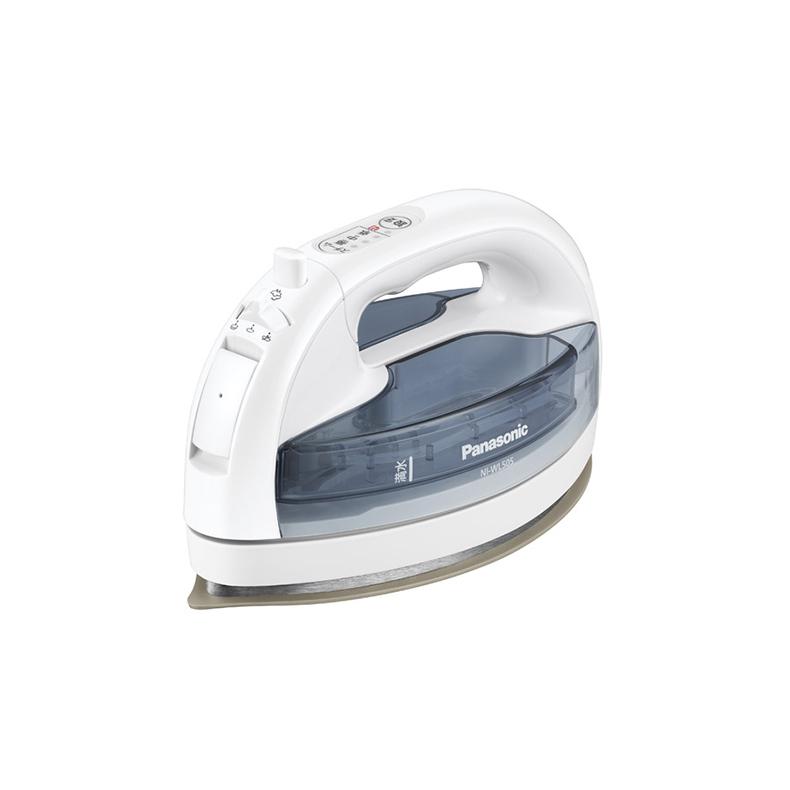コードレススチームアイロン 衣類スチーマー パナソニック おトク Panasonic NI-WL505-H ni-wl505-h Wヘッドベース 大容量タンク 新品 カルル 送料無料 返品送料無料 クリアグレー