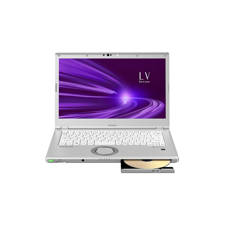 ノートパソコン パナソニック Panasonic CF-LV9HDSQR cf-lv9hdsqr シルバー レッツノートLV Windows 10 Pro 64ビット 14型 レッツノートLV 新品 送料無料