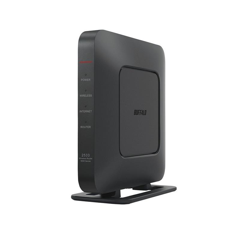 無線LANルーター Wi-Fiルーター バッファロー BUFFALO WSR-2533DHPL2-BK wsr-2533dhpl2-bk ブラック ビームフォーミングEX IPv6 StationRadar 新品 送料無料
