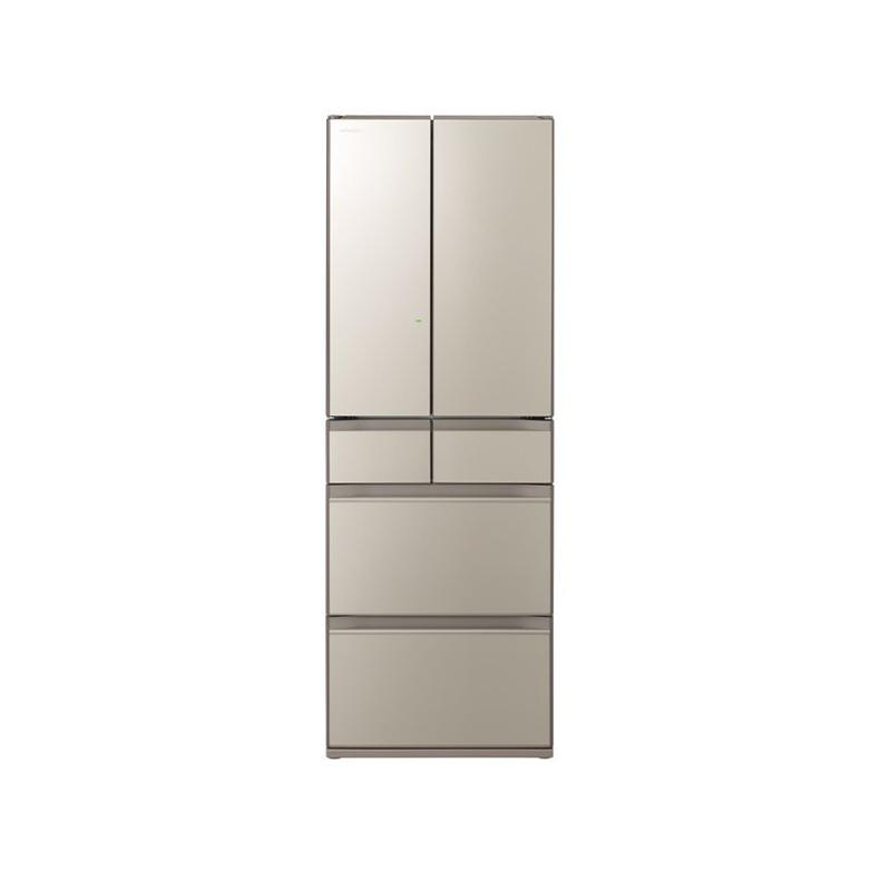 冷蔵庫 日立 HITACHI R-HX52N-XN r-hx52n-xn ファインシャンパン 520L フレンチドア 6ドア まるごとチルド 特鮮氷温ルーム 新鮮スリープ野菜室 新品 送料無料