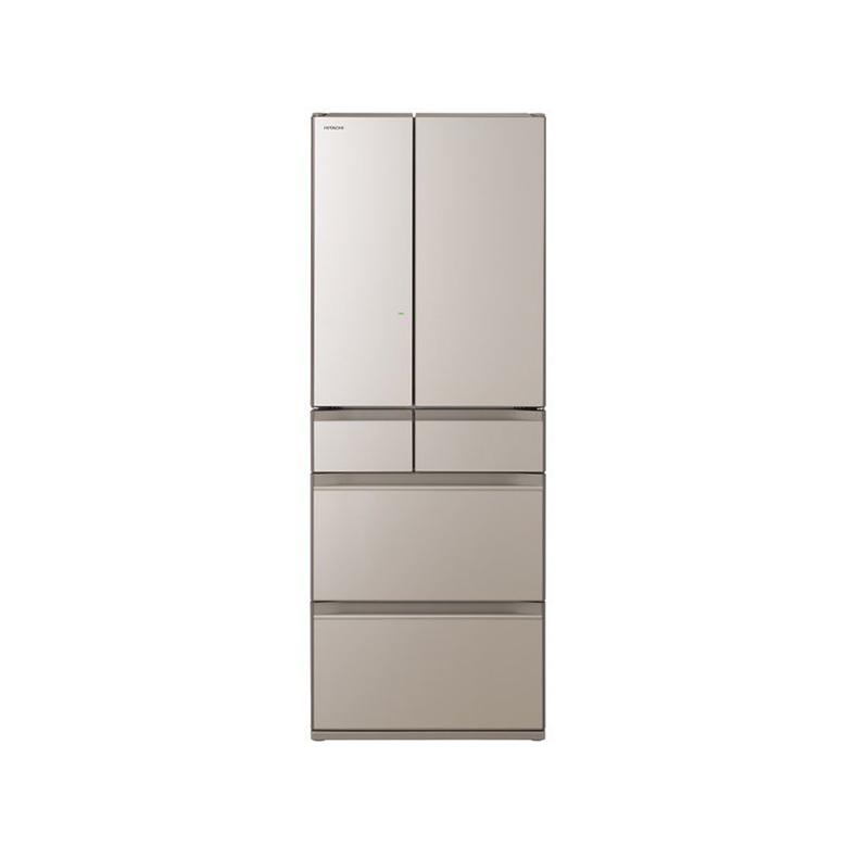 冷蔵庫 日立 HITACHI R-HW60N-XW r-hw60n-xw クリスタルシャンパン 602L フレンチドア 6ドア まるごとチルド 特鮮氷温ルーム クイック冷却 新品 送料無料