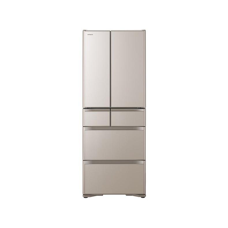 冷蔵庫 日立 HITACHI R-X51N-XN r-x51n-xn クリスタルシャンパン 505L フレンチドア 6ドア スポット冷蔵 サッと急冷却 オート急冷却 新品 送料無料