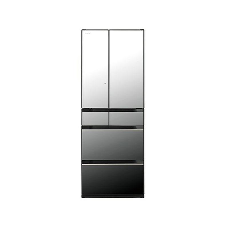 冷蔵庫 日立 HITACHI R-KX57N-X r-kx57n-x クリスタルミラー 567L フレンチドア 6ドア まるごとチルド ぴったりセレクト 特鮮氷温ルーム 新品 送料無料