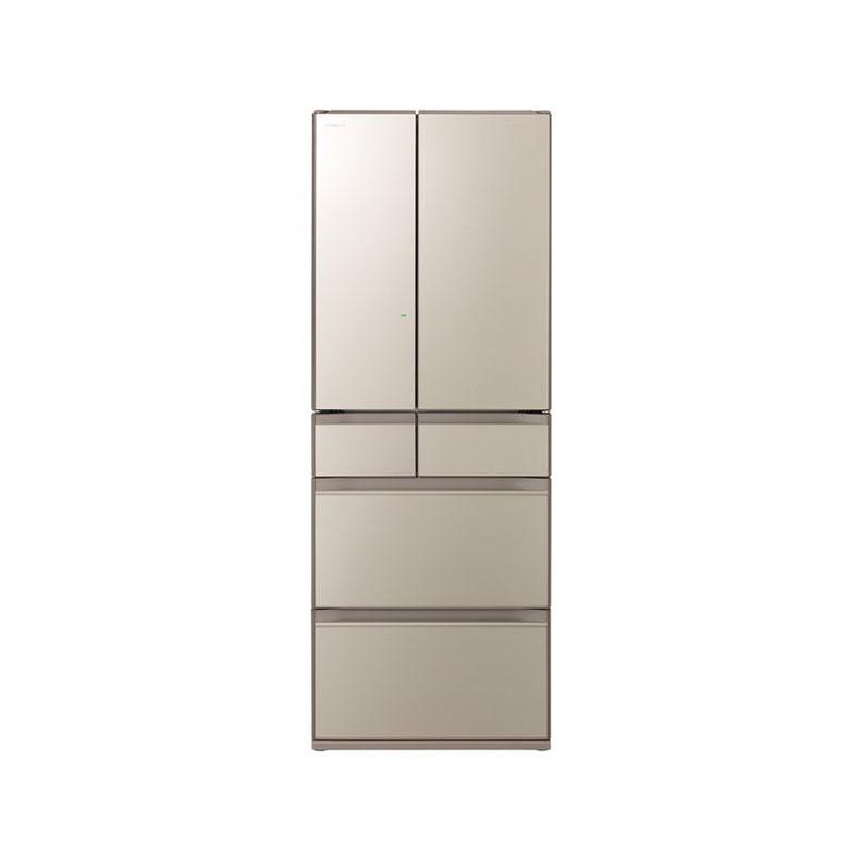 冷蔵庫 日立 HITACHI R-KX57N-XN r-kx57n-xn ファインシャンパン 567L フレンチドア 6ドア まるごとチルド ぴったりセレクト 特鮮氷温ルーム 新品 送料無料