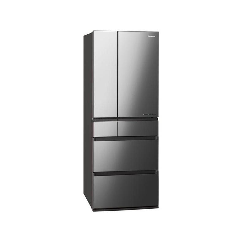 冷蔵庫 パナソニック Panasonic NR-F606WPX-X nr-f606wpx-x オニキスミラー 600L 観音開き フレンチドア 6ドア パーシャル搭載 はやうま冷凍 新品 送料無料