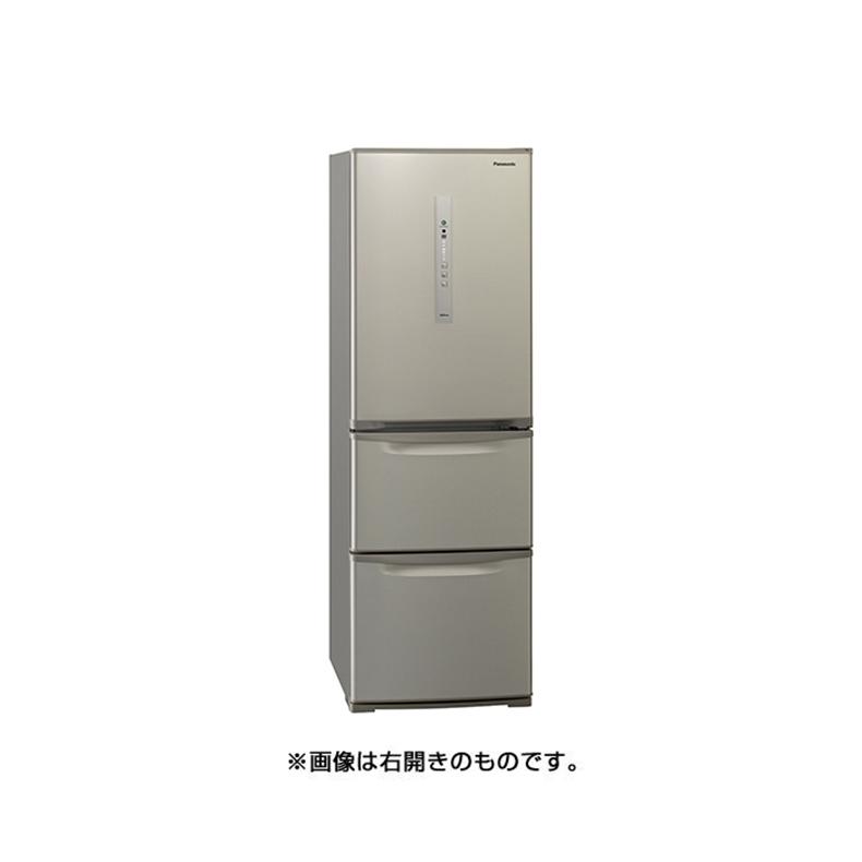 超爆安  冷蔵庫 パナソニック Panasonic NR-C371NL-N nr-c371nl-n シルキーゴールド 365L 左開き 3ドア 真ん中野菜室 ECONAVI 自動製氷機能 かしこくエコ 新品 送料無料, バッグ通販 クロスチャーム 4dc3a646