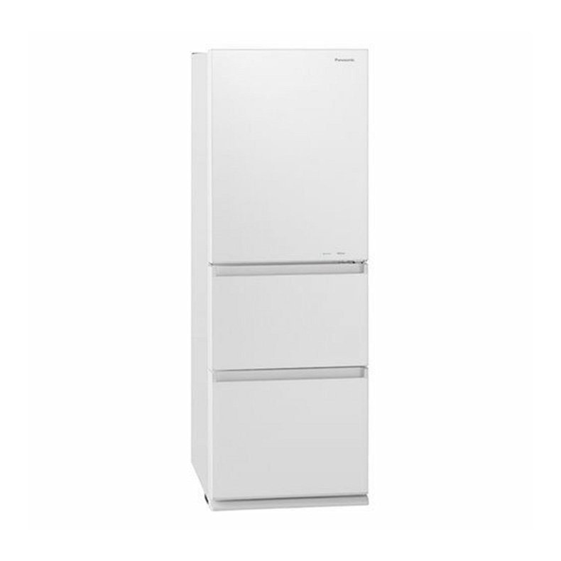【送料無料・標準設置込】 ノンフロン冷凍冷蔵庫 冷蔵庫 パナソニック Panasonic NR-C341GC nr-c341gc スノーホワイト 3ドア 335L 左開き 新品 送料無料
