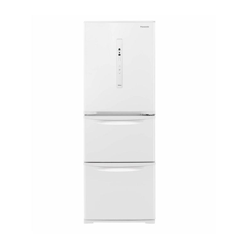 大人女性の 【送料無料・標準設置込】 ノンフロン冷凍冷蔵庫 冷蔵庫 パナソニック Panasonic NR-C341C nr-c341c ピュアホワイト 3ドア 335L 右開き 新品 送料無料, 山形うまいもの屋めいゆう庵 b7f14b9c