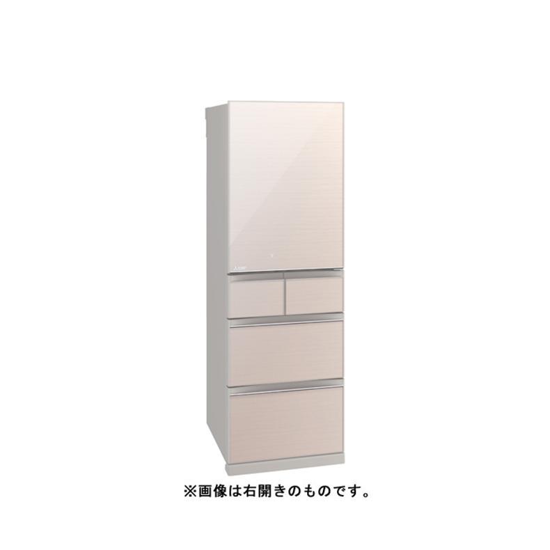 冷蔵庫 三菱電機 MITSUBISHI MR-B46FL-F mr-b46fl-f クリスタルフローラル 455L 左開き 5ドア 切れちゃく瞬冷凍A.I. 氷点下ストッカー 新品 送料無料