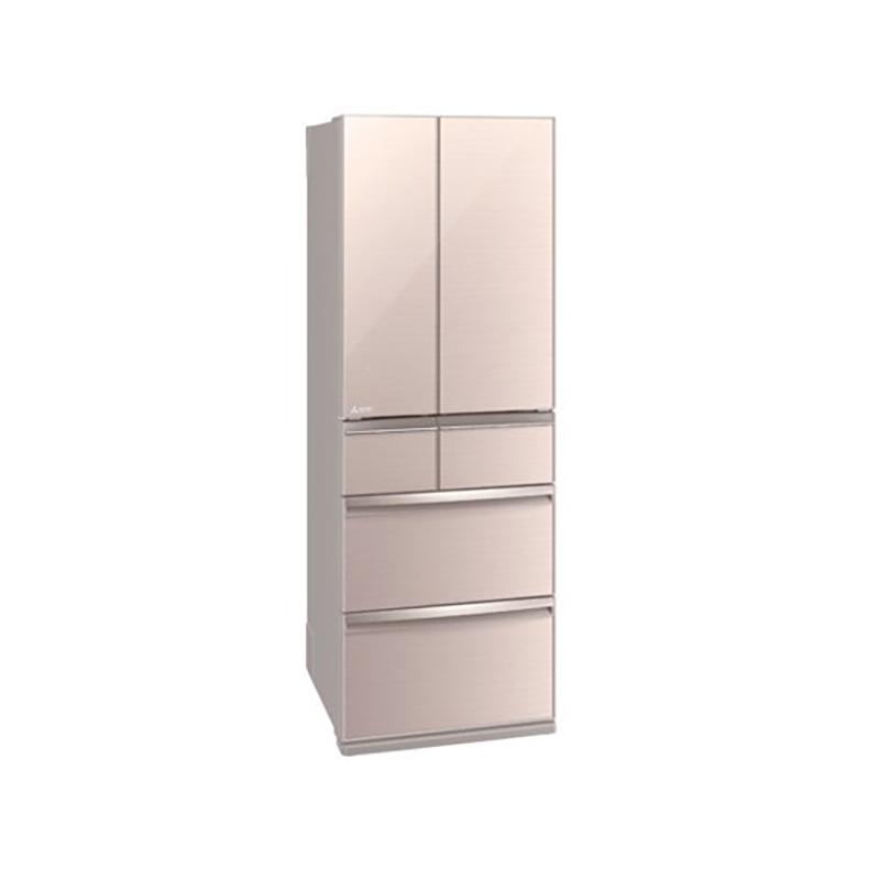 冷蔵庫 三菱電機 MITSUBISHI MR-WX47LF-F mr-wx47lf-f クリスタルフローラル 470L フレンチドア 6ドア 切れちゃう瞬冷凍A.I. 氷点下ストッカー 新品 送料無料