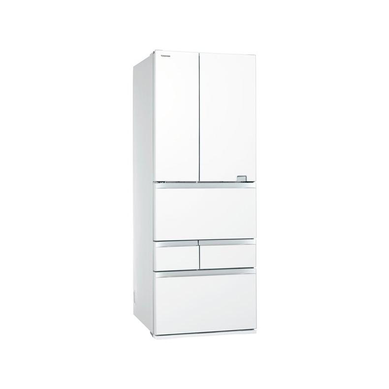 冷蔵庫 東芝 TOSHIBA GR-S600FZ UW gr-s600fz uw クリアグレインホワイト 601L フレンチドア 6ドア VEGETA USBポート 氷結晶チルド 新品 送料無料