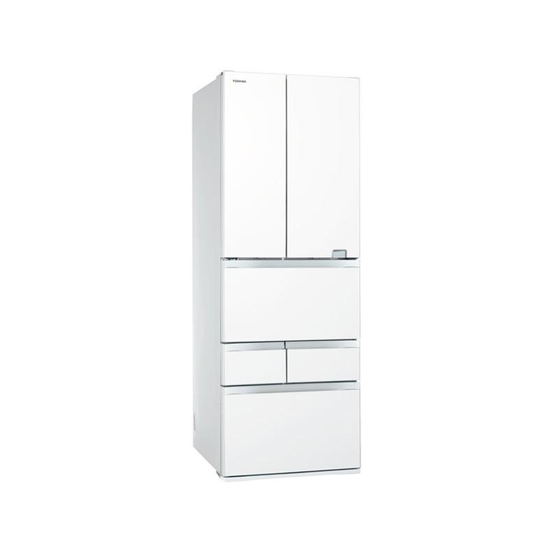 冷蔵庫 東芝 TOSHIBA GR-S510FZ UW gr-s510fz uw クリアグレインホワイト 508L フレンチドア 6ドア VEGETA べジータ タッチオープン 新品 送料無料