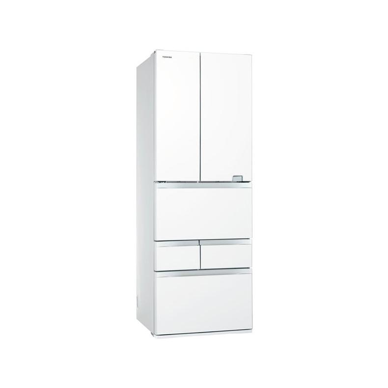 冷蔵庫 東芝 TOSHIBA GR-S460FZ-UW gr-s460fz-uw クリアグレインホワイト 461L フレンチドア 6ドア VEGETA USBポート 氷結晶チルド 新品 送料無料
