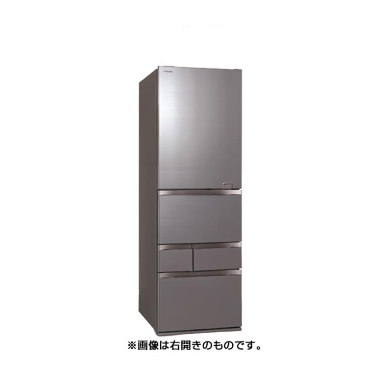 冷蔵庫 東芝 TOSHIBA GR-S500GZL ZH gr-s500gzl zh アッシュグレージュ 501L 左開き 5ドア VEGETA べジータ 氷結晶チルド うるおい冷蔵室 新品 送料無料