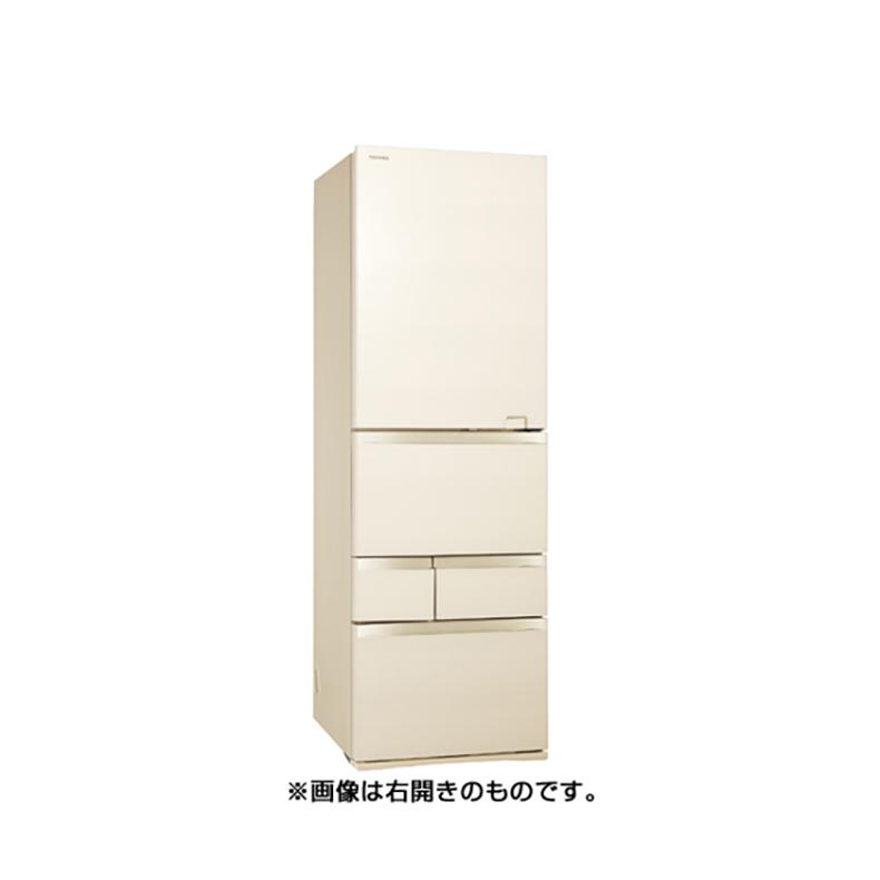 冷蔵庫 東芝 TOSHIBA GR-S470GZL ZC gr-s470gzl zc ラピスアイボリー 465L 左開き 5ドア VEGETA べジータ 氷結晶チルド USBポート 新品 送料無料