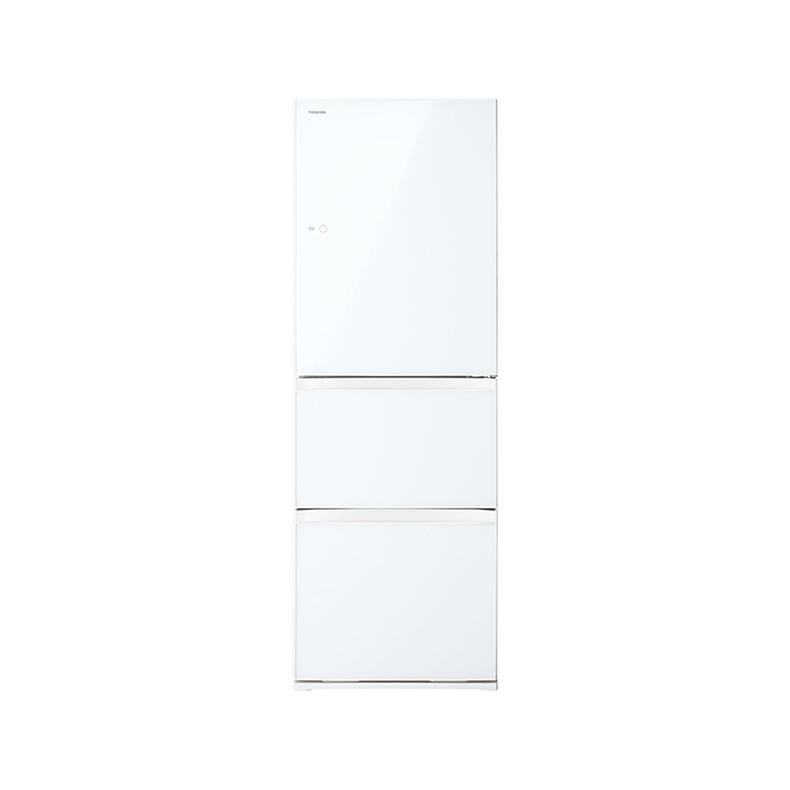冷蔵庫 東芝 TOSHIBA GR-S36SXV-EW gr-s36sxv-ew グランホワイト 363L 右開き 3ドア 速鮮チルド 解凍モード ガラス棚 ecoモード Ag低温触媒除菌 新品 送料無料