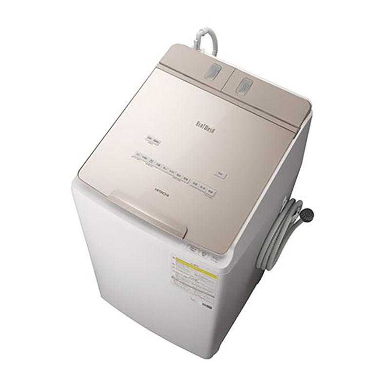 タテ型 洗濯機 日立 HITACHI BW-DX90F-N bw-dx90f-n シャンパン 洗濯9kg 乾燥5kg ビートウォッシュ 自動投入 AIお洗濯 温水 ナイアガラ 新品 送料無料