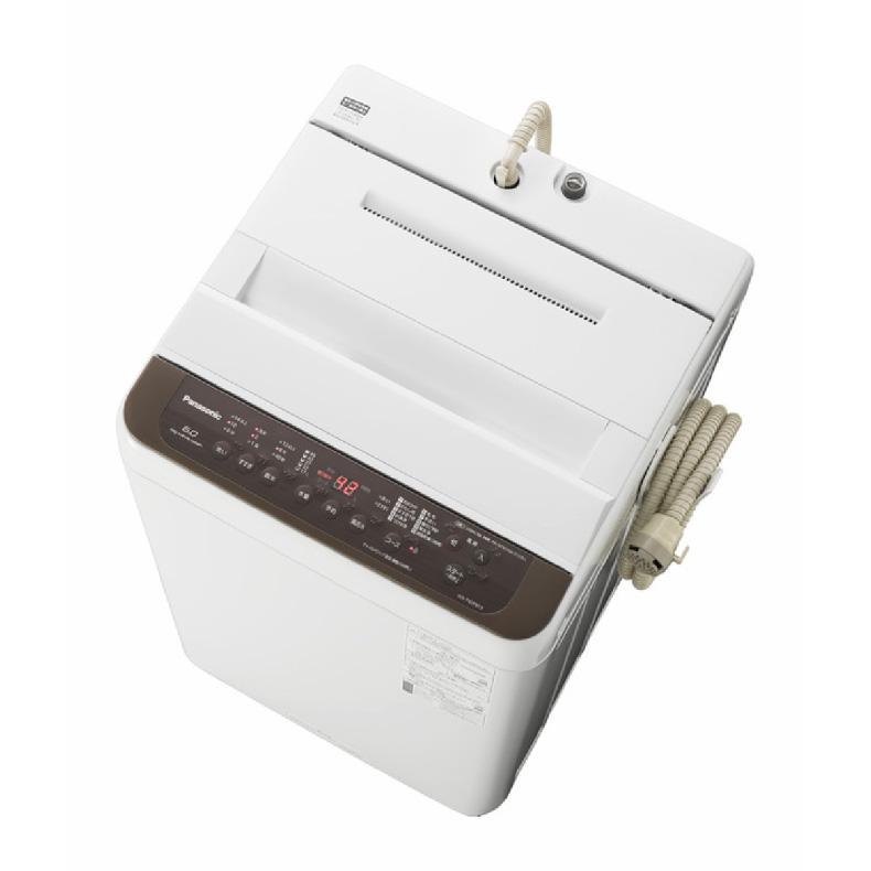 【送料無料・標準設置込】 全自動 洗濯機 パナソニック Panasonic NA-F60PB13 na-f60pb13 ブラウン 洗濯6kg からみほぐし つけおきコース 新品 送料無料