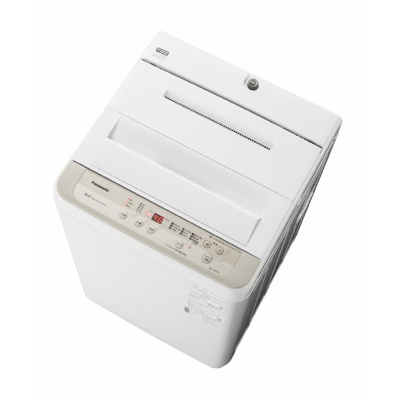 【送料無料・標準設置込】 全自動 洗濯機 パナソニック Panasonic NA-F50B13 na-f50b13 シャンパン 洗濯5kg からみほぐし つけおきコース 新品 送料無料
