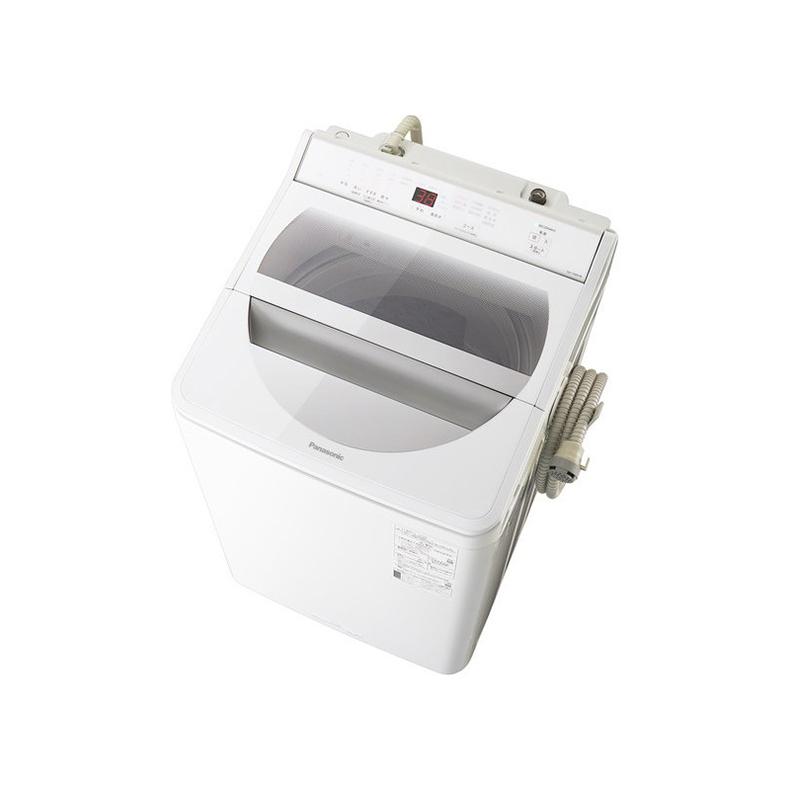 洗濯機 全自動洗濯機 パナソニック Panasonic NA-FA90H8-W na-fa90h8-w ホワイト 洗濯9kg 送風乾燥 泡洗浄 パワフル立体水流 楽ポイフィルター 新品 送料無料