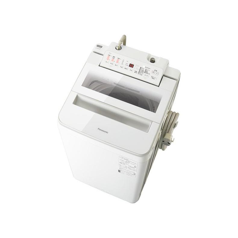 洗濯機 全自動洗濯機 パナソニック Panasonic NA-FA70H8 na-fa70h8 ホワイト 洗濯7kg 泡洗浄 ECONAVI 楽ポイフィルター 槽すすぎ 泡洗浄 新品 送料無料