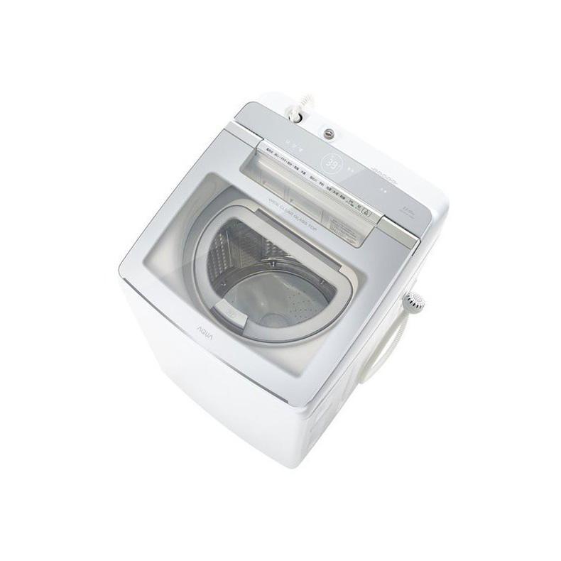 【WEB限定】 洗濯乾燥機 洗濯機 アクア AQUA AQW-GTW110J-W aqw-gtw110j-w ホワイト 洗濯11kg 乾燥5.5kg 激落ちケア洗浄 ジェルボールコース 新品 送料無料, 川本町 5325fcb0