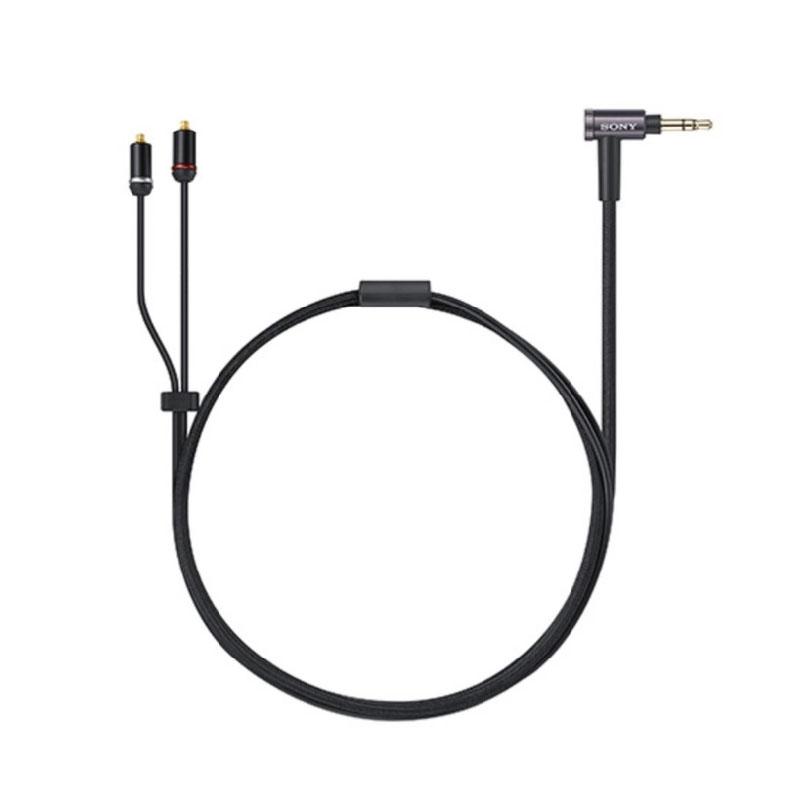 ヘッドホンケーブル ソニー SONY MUC-M12SM2 ブラック XBA専用リケーブル 1.2m スターカッド構造 高音質 マルチゲージコンダクター 新品 送料無料