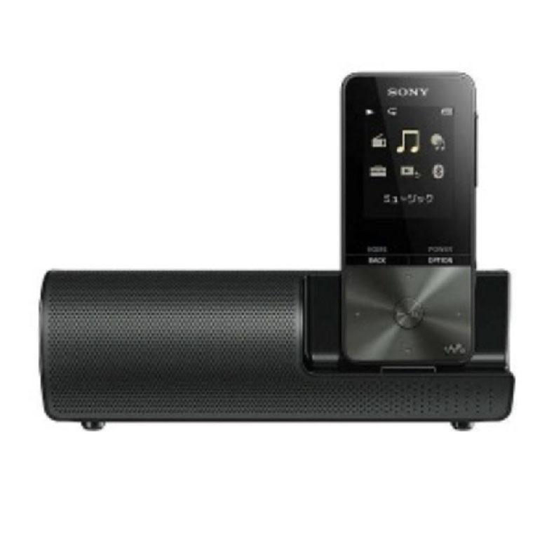 オーディオプレーヤー ウォークマン ソニー SONY NW-S315K ブラック Sシリーズ スピーカー用AC電源アダプター付属 コンパクト スリム 新品 送料無料
