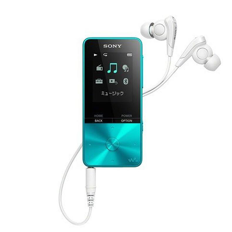 オーディオプレーヤー ウォークマン ソニー SONY NW-S315 ブルー Sシリーズ コンパクト スリム 音楽再生約52時間 1.77型カラー液晶ディスプレイ 新品 送料無料