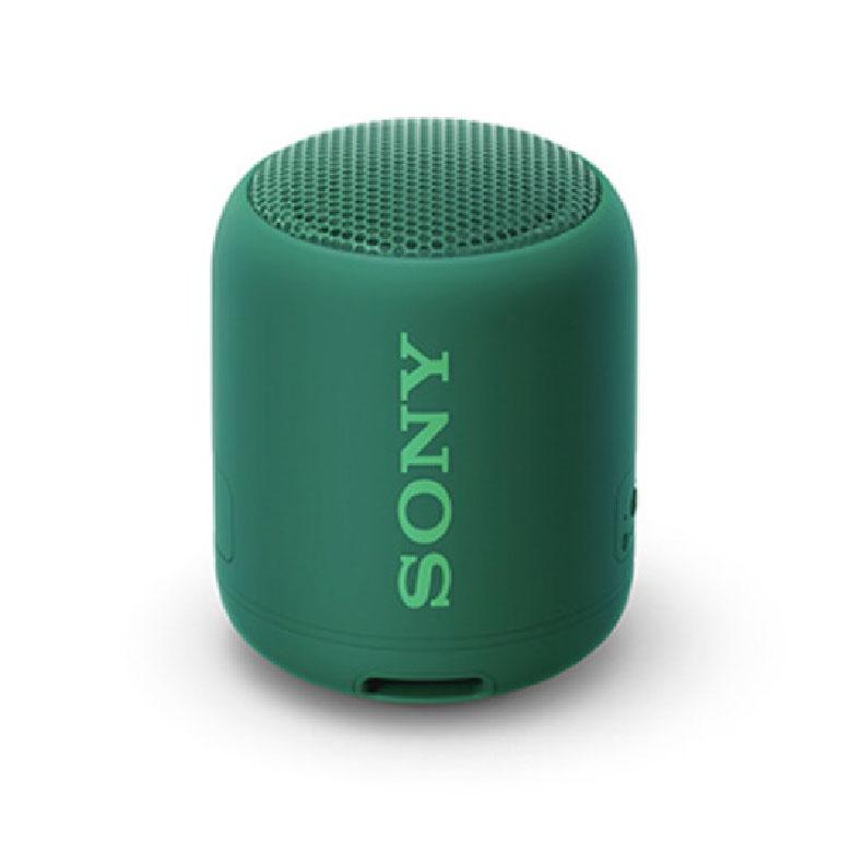 ワイヤレスポータブルスピーカー ソニー SRS-XB12 グリーン