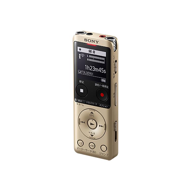 ICレコーダー ステレオICレコーダー ソニー SONY ICD-UX570F-N icd-ux570f-n ゴールド 録音 内蔵マイク リニアPCM録音形式 MP3 新品 送料無料