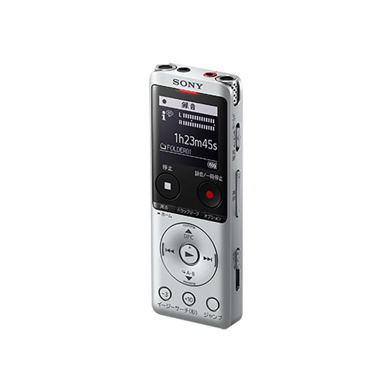 ICレコーダー ステレオICレコーダー ソニー SONY ICD-UX570F-S icd-ux570f-s シルバー 録音 内蔵マイク リニアPCM録音形式 MP3 新品 送料無料