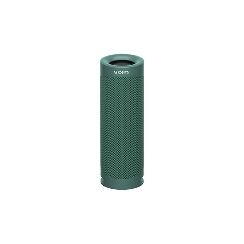 ワイヤレスポータブルスピーカー ソニー SONY SRS-XB23-G srs-xb23-g グリーン Bluetooth AAC ステレオ 上品 新品 C Type 最安値挑戦 DSEE 防水 送料無料 高音質 USB