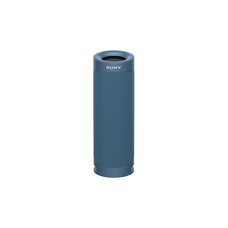 ワイヤレスポータブルスピーカー ソニー SONY SRS-XB23-L srs-xb23-l ブルー Bluetooth AAC ステレオ DSEE 防水 高音質 USB Type C 新品 送料無料